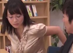 ขอเย็ดหีคุณครูคนสวยในห้องสมุด