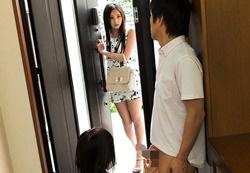 Momodani Erika นางฟ้าเปิดบ้านมาเจอคนเย็ดกัน