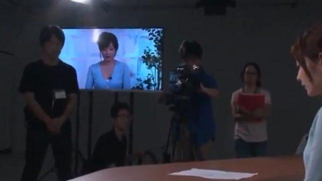 เย็ดหีนักข่าวกลางรายการโทรทัศน์ กลายเป็นหนังโป๊