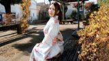 คลิปหีญี่ปุ่น สาวชุดกิโมโนนั่งรอผู้ชายซื้อหี ขายไม่แพง
